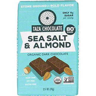 Taza Sea Salt and Almond Amaze Bar,2.5 OZ