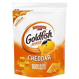 Pepperidge Farm Goldfish Cheddar Baked Snack Crackers Bag, 11 oz