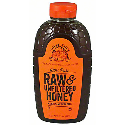 Nature Nates Raw & Unfiltered North Dallas Honey, 32 oz