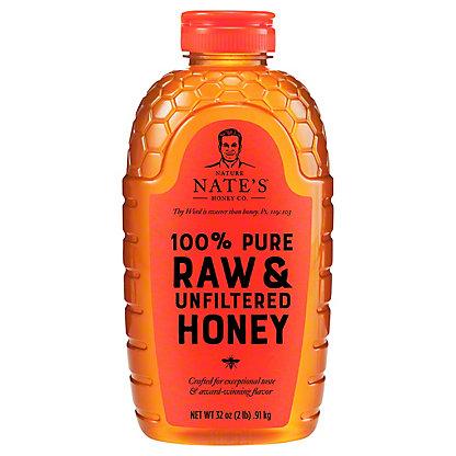 Nature Nates Raw & Unfiltered North Dallas Honey, 32 oz