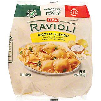 H-E-B Ricotta & Lemon Ravioli, 12 oz