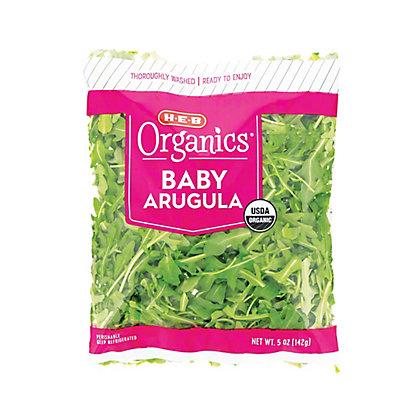 H-E-B Organics Baby Arugula, 5 oz