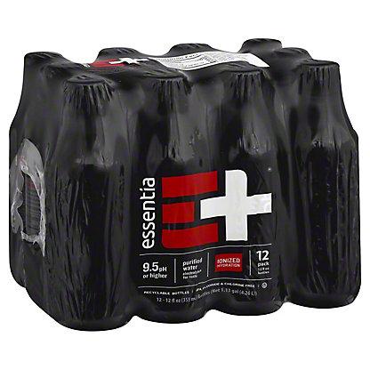 Essentia Purified Drinking Water, 12 pk - 12 oz