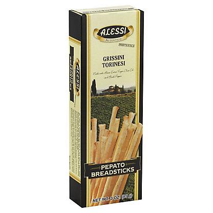 Alessi Pepato Breadsticks,3OZ