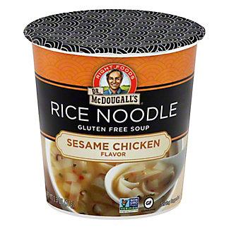 Dr. McDougall's Sesame Chicken Rice Noodle Asian Soup,1.3 oz