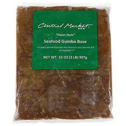 "Central Market ""Cajun Style"" Seafood Gumbo Base,32 OZ"