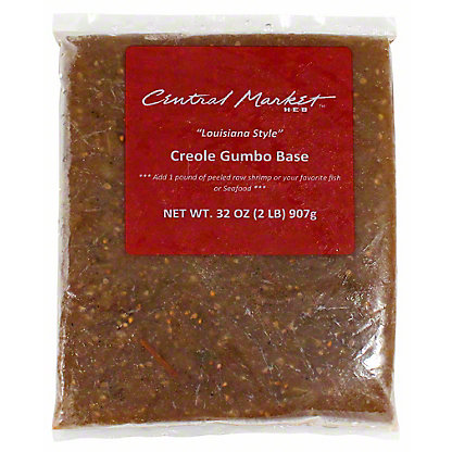 "Central Market ""Louisiana Style"" Creole Gumbo Base,32 OZ"