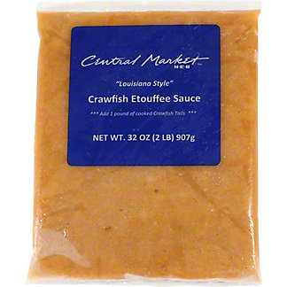 "Central Market ""Louisiana Style"" Crawfish Etouffee Sauce,32 OZ"