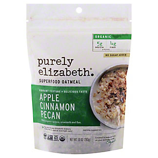 Purely Elizabeth Oatmeal Apple Cinnamon Pecan, 10 oz