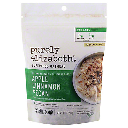 Purely Elizabeth Oatmeal Apple Cinnamon Pecan, 10 oz