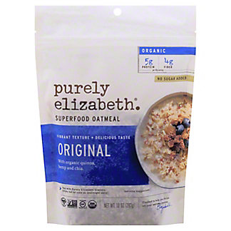 Purely Elizabeth Ancient Grain Oatmeal Original, 10  oz