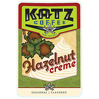 Katz Coffee Hazelnut Creme, 16 oz