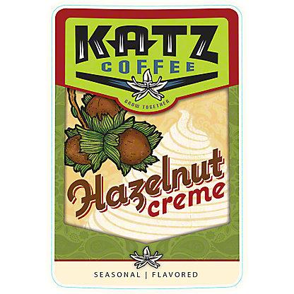 Katz Coffee Hazelnut Creme, 16 oz