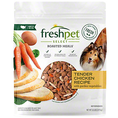 Freshpet Select Roasted Meal Dog Food,5.5 LBS