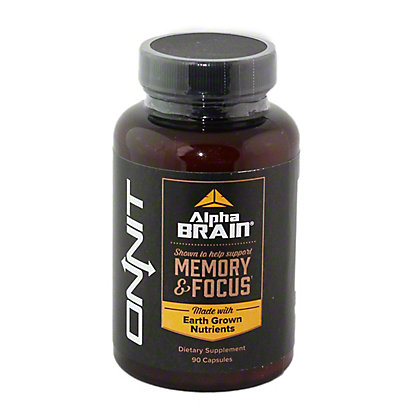 ONNIT Onnit Labs CB Nootropic With Alpha GPC,90 CAP