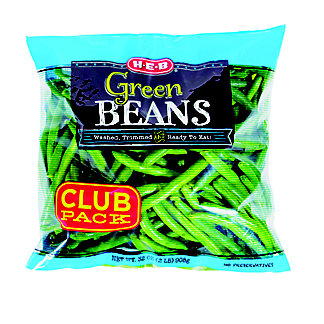 H-E-B Green Beans, Club Pack, 32 oz