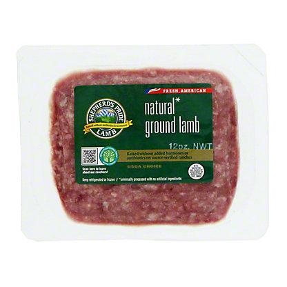 H-E-B Natural Ground Lamb, 16 OZ