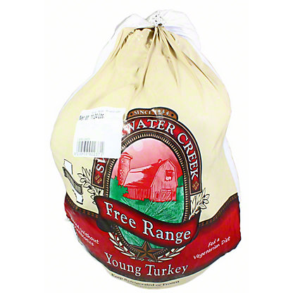 Sweet Water Creek Fresh Free-range Natural Whole Turkey 8-12, LB