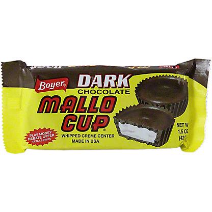Boyer Dark Chocolate Mallow Cup,1.5 OZ