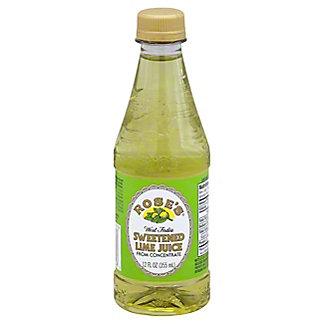 Rose's Sweetened Lime Juice, 12 oz