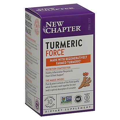 New Chapter Turmeric Force Liquid V Caps, 30 CT