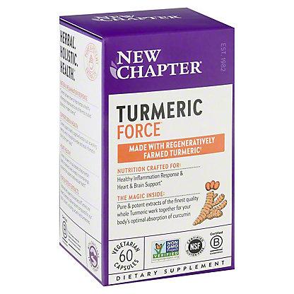 New Chapter Turmeric Force Liquid V Caps,60 CT