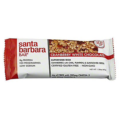 Santa Barbara Bar Cranberry White Chocolate,1.58 oz