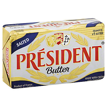 President Imported Salted Butter,7 oz (199 g)