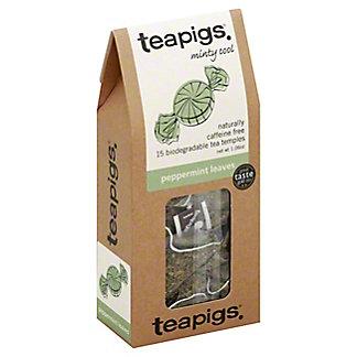 TEAPIGS Peppermint Leaves Tea Temples,15 CT