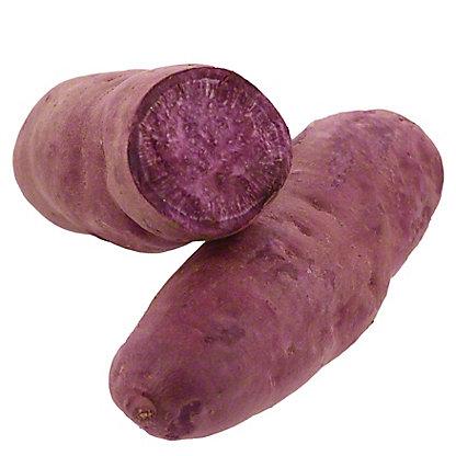 Fresh Organic Purple Sweet Potato