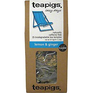 Teapigs Lemon and Ginger,15.00 ea