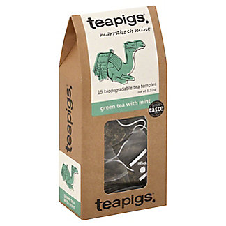 Teapigs Green Tea With Mint,15.00 ea