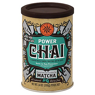 David Rio Power Chai With Matcha, 14.00 oz