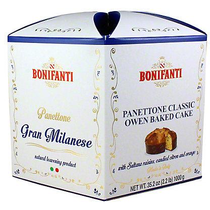 Bonifanti Classic Panettone, 2.2 LB