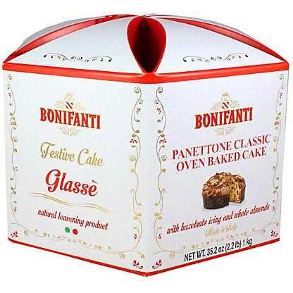 Bonifanti Panettone Almond Glaced, 2.2 LB