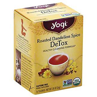 Yogi Roasted Dandelion Spice DeTox Tea Bags, 16 ct