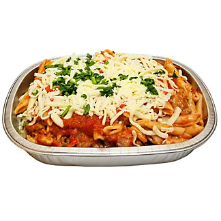 Central Market Small Baked Ziti with Sausage & Peppers, ea