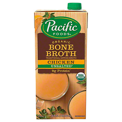 Pacific Foods Organic Chicken Bone Broth, 32 oz