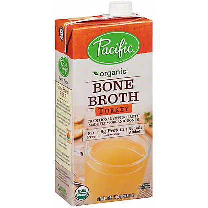 PACIFIC Organic Bone Broth Turkey,32 oz