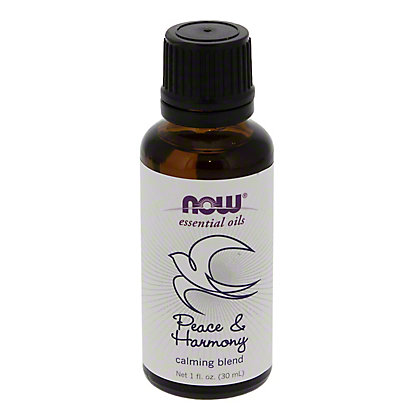 NOW Essential Oils Peace & Harmony Calming Oil Blend,1 OZ