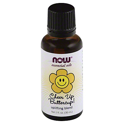 NOW Essential Oils Cheer Up Buttercup Uplifting Oil Blend,1 OZ