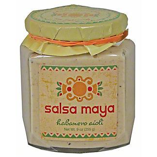 Salsa Maya Habanero Aioli,9OZ