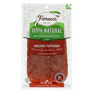 Fiorucci Natural Uncured Pepperoni, 4 oz