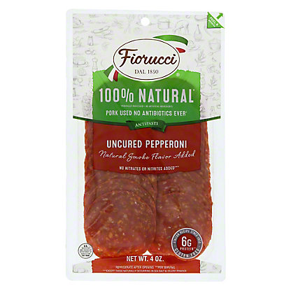 Fiorucci Natural Uncured Pepperoni, 4 oz