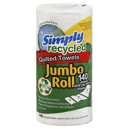 Simply Recycled Jumbo Paper Towel, 1 CT