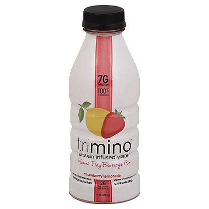 Trimino Strawberry Lemonade Water,16 OZ