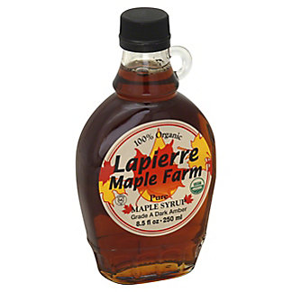 Lapierre Maple Farm Amber Maple Syrup,8.5 OZ