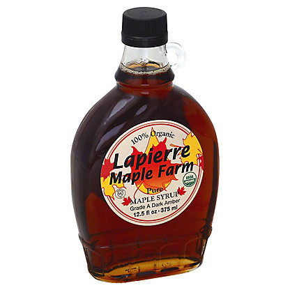 Lapierre Maple Farm Amber Maply Syrup,12.5OZ