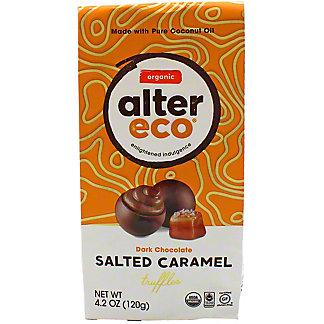 Alter Eco Organic Salted Caramel Truffles,4.2 OZ