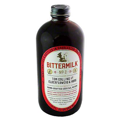 Bittermilk No 2 Tom Collins W Elderflower & Hops cocktail mixer, 17 Z
